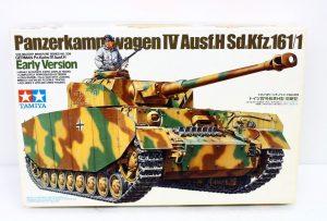 TAMIYA プラモデル ドイツ Ⅳ号戦車H型