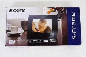 SONY S-Frame デジタルフォトフレーム DPF-D720